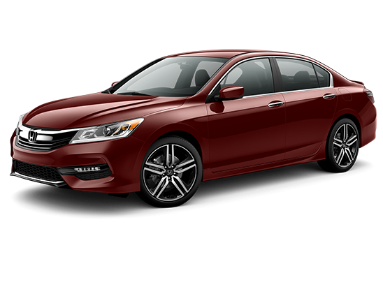 used Basque Red Pearl II 2016 Honda Accord Sedan Sport with Black Interior located in Abbott